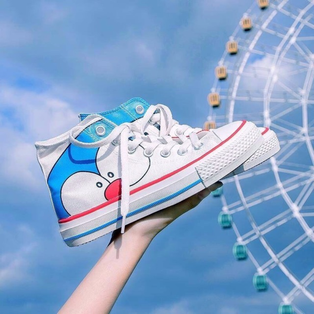 [ FREE SHIP ĐƠN 99K ]_Giày converse bản Doraemon
