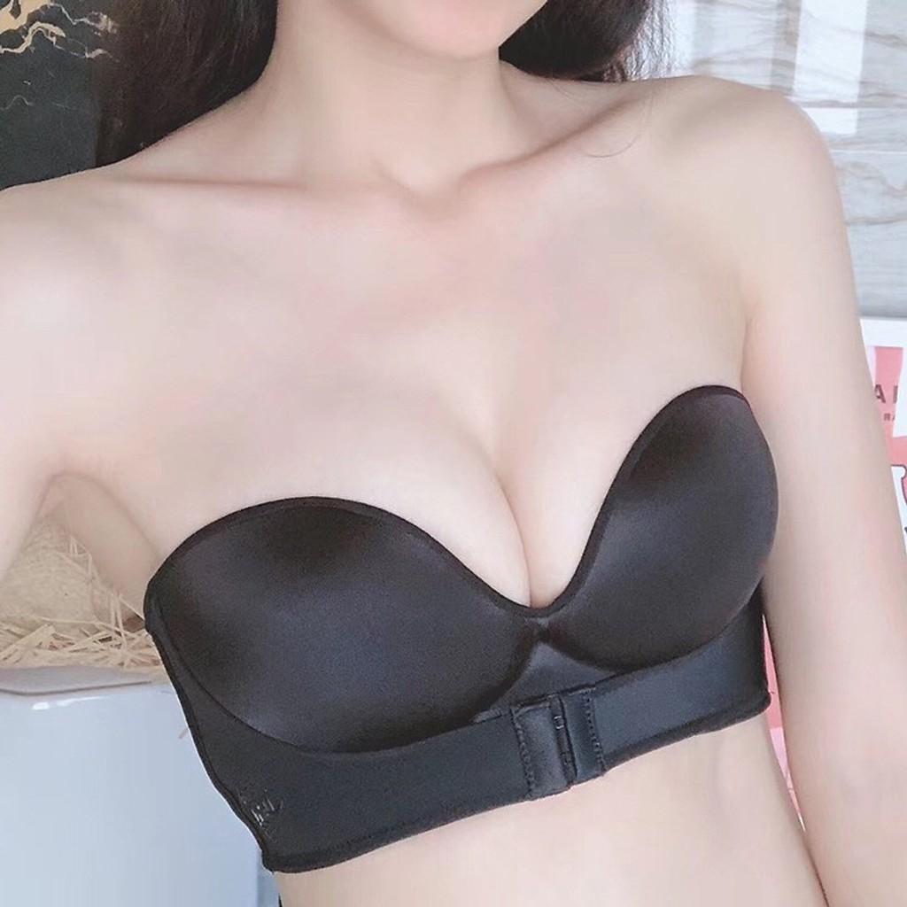Áo lót không dây nâng ngực có móc cài trước ngực mẫu mới   Shopee Việt Nam