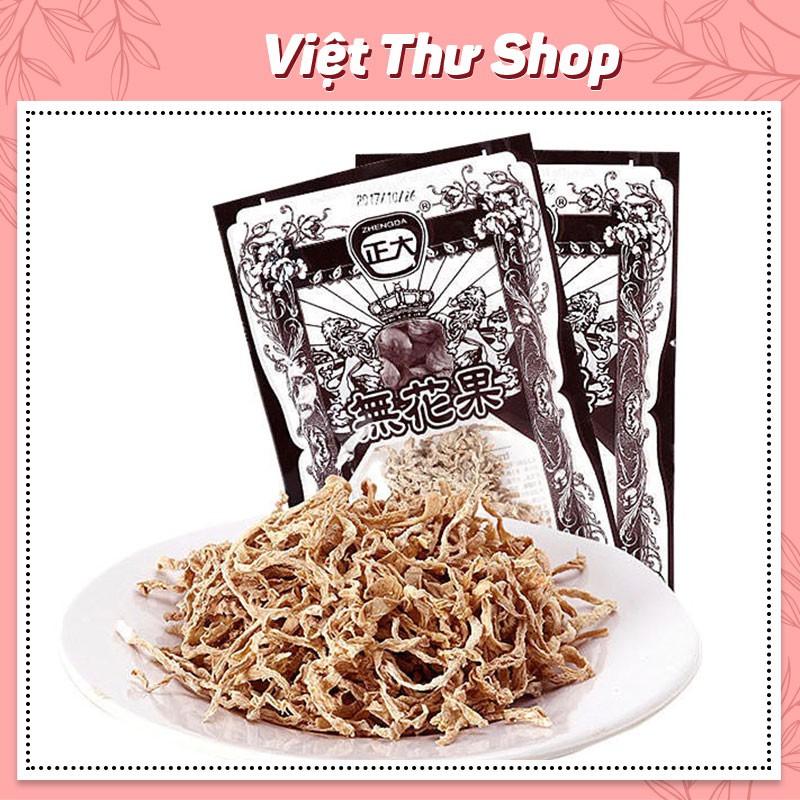 Ô mai củ cải sấy chua ngọt 12g , đồ ăn vặt nội địa Trung - Việt Thư shop