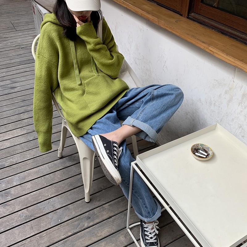Quần jeans nữ dài lưng cao ống rộng thời trang Hàn - 13845641 , 2457612882 , 322_2457612882 , 462000 , Quan-jeans-nu-dai-lung-cao-ong-rong-thoi-trang-Han-322_2457612882 , shopee.vn , Quần jeans nữ dài lưng cao ống rộng thời trang Hàn