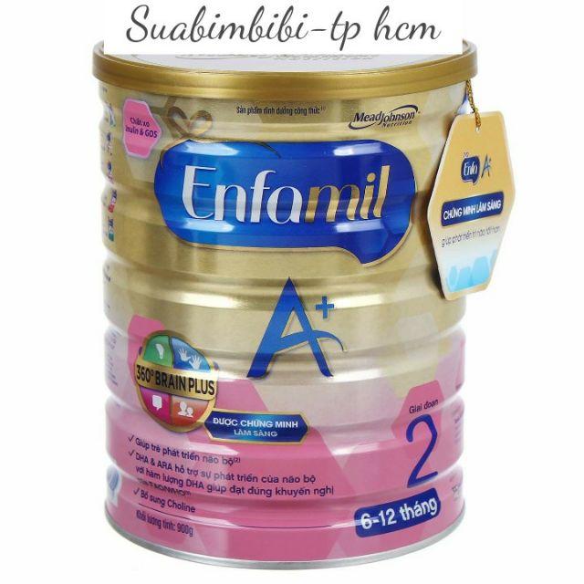 Sữa Enfamil A+ 2 360 (900g) – Dành cho trẻ 6 – 12 tháng