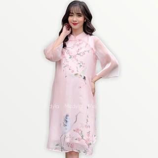 MEYDLA - Váy bầu cách tân cho mẹ bầu diện tết cực xinh - VS383 thumbnail