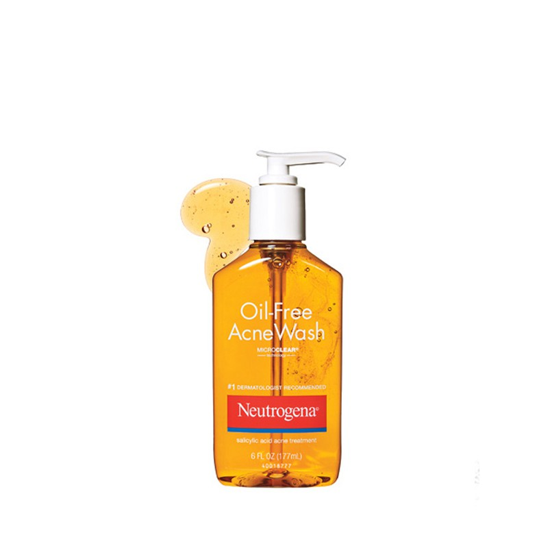 Sữa rửa mặt Neutrogena Oil Free Acne Wash 177ml