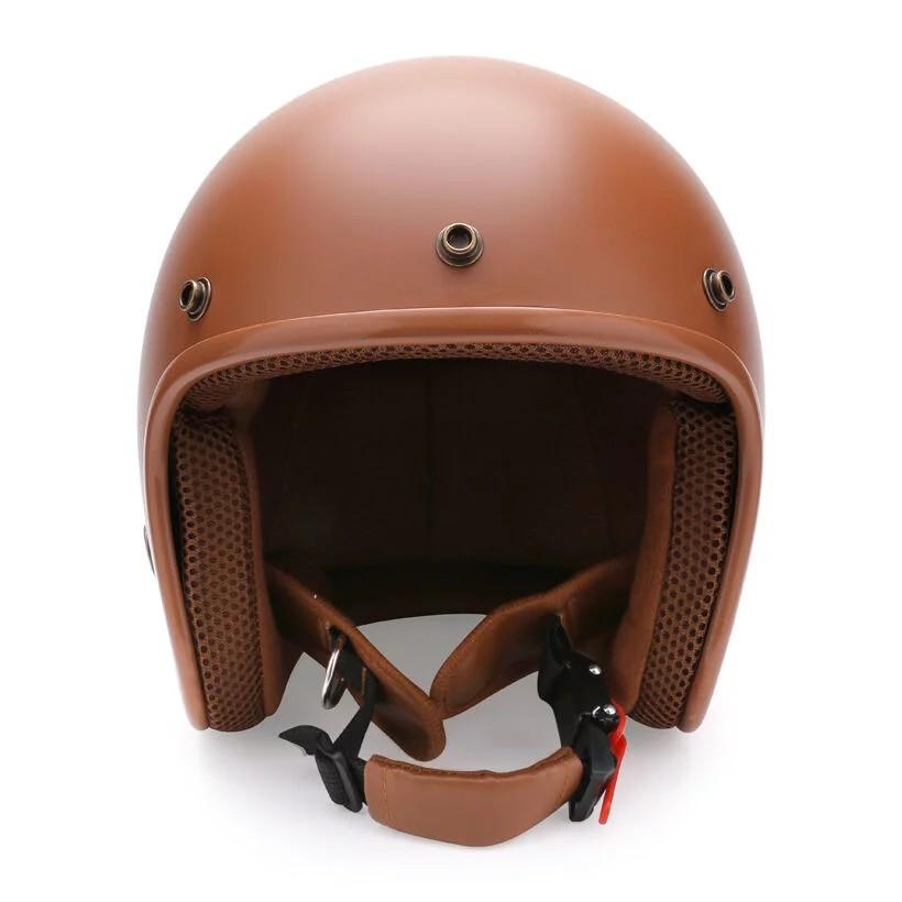 Mũ bảo hiểm 3/4 NTMax MP128 (Nâu)