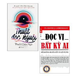 Sách - Combo Thuật Đọc Nguội + Đọc Vị Bất Kỳ Ai ( 2 cuốn )