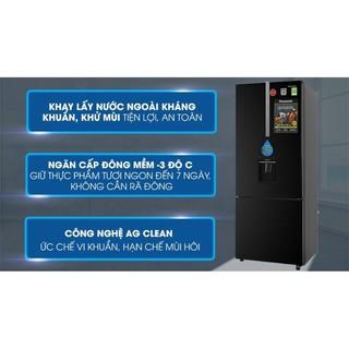 Tủ lạnh Panasonic inverter 368 lít NR-BX410WKVN.MODEL2020