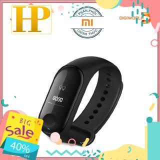 Vòng đeo tay thông minh Xiaomi Mi Band 3 Đen - Hàng Chính Hãng