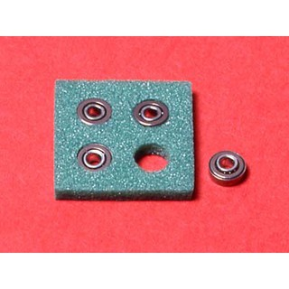 15111 Phụ kiện Mini 4WD MINI ROUND HOLE BALL BEARING SET (4 Pcs.