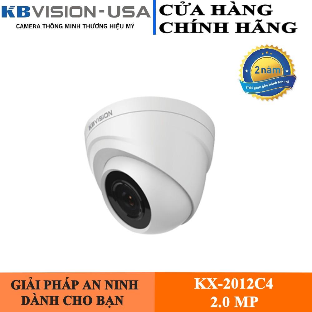 CAMERA KBVISION KX-2012C4 2MP - Camera trong nhà LED công nghệ mới SMD, Chống Ngược Sáng, hỗ trợ CVI, TVI, AHD, Analog