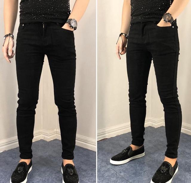 Quần jean nam đen trơn cao cấp đẹp giá rẻ JNFS20