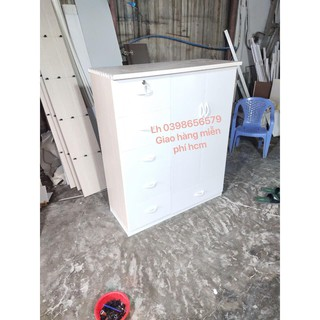 Tủ quần áo cho bé nhựa đài loan fs hcm