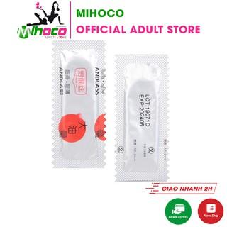 1 Bao cao su ANDLASS chống xuất tinh sớm siêu mỏng siêu bóng lượng dầu lớn – MIHOCO