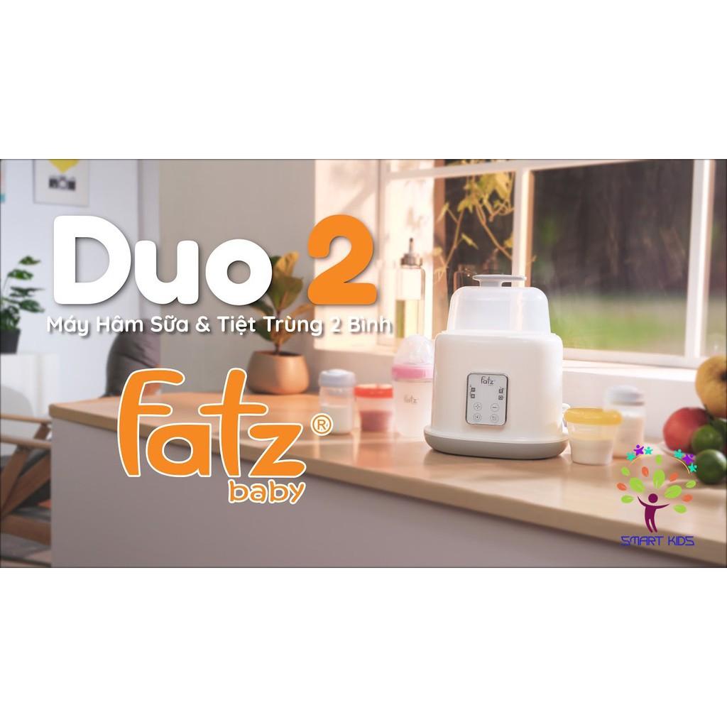Máy hâm sữa tiệt trùng 2 bình điện tử Duo 2 Fatz baby FB3223SL  - 𝐊𝐢𝐝𝐬𝐦𝐚𝐫𝐭.𝐯𝐧