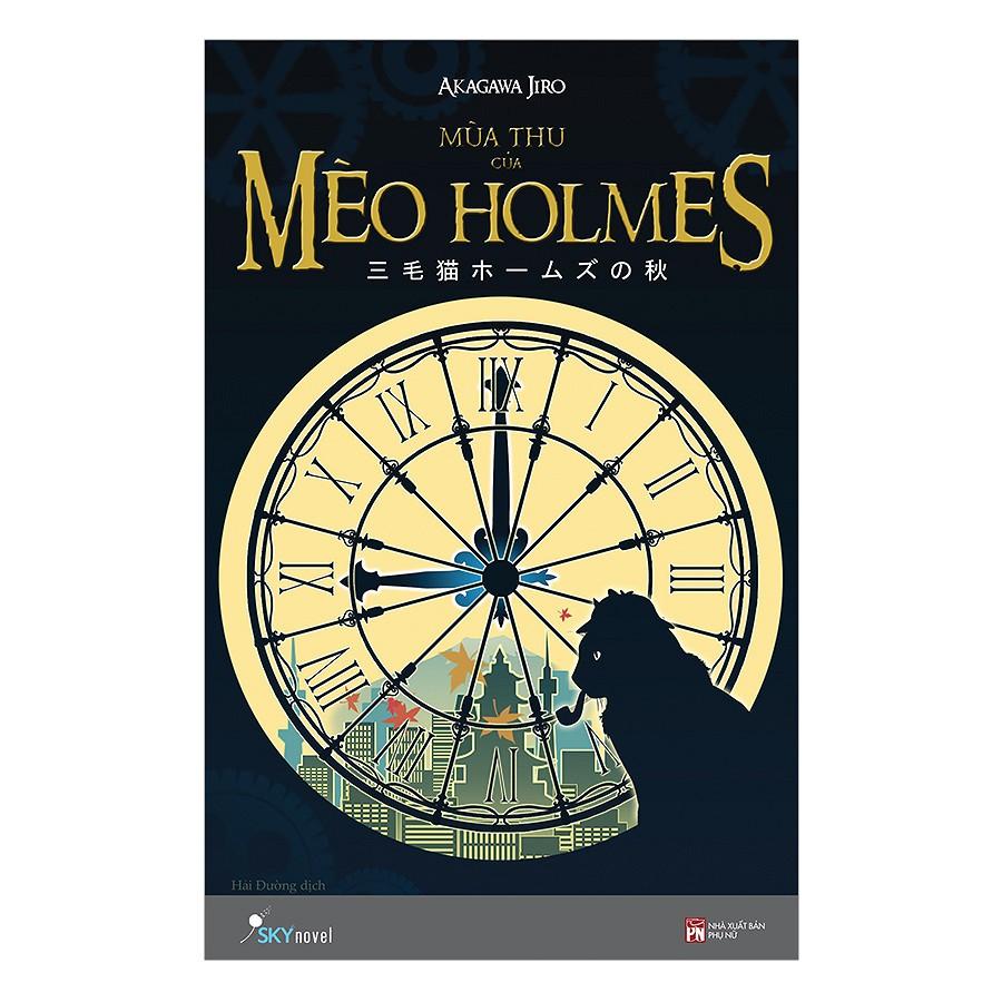 Sách Trinh Thám - Mùa Thu Của Mèo Holmes