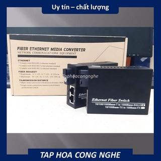 Bộ Converter quang – Chuyển Đổi Quang Điện 1 SỢI QUANG 2 SỢI LAN