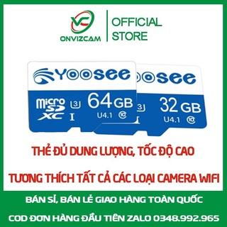 [BH 5 NĂM] Thẻ nhớ tốc độ cao, đủ dung lượng chuyên dụng cho camera dung lượng 64 32g thumbnail