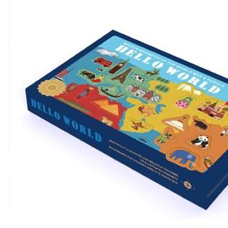 Bộ đồ chơi khám phá thế giới Hello world chính hãng Mideer