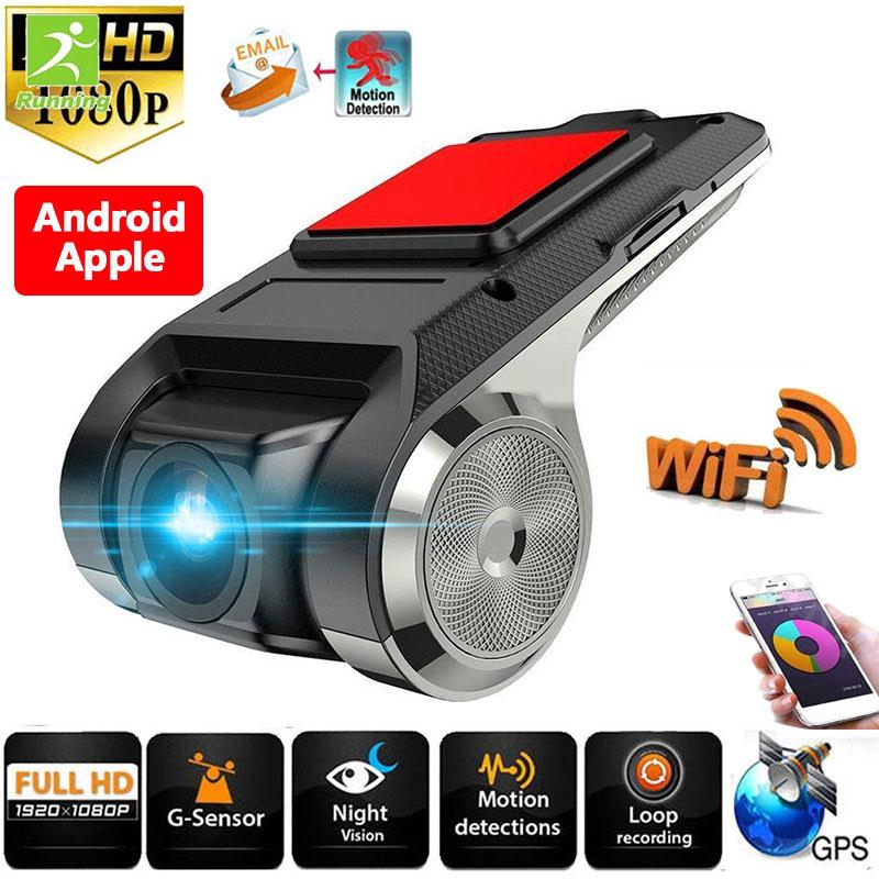 RUN Driving Recorder Camera Dash Camera Vehicles Support WiFi Ultrathin