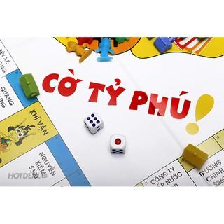Đồ chơi trẻ em Cờ Tỷ Phú Hugo Vĩnh Phát bộ nhỏ.