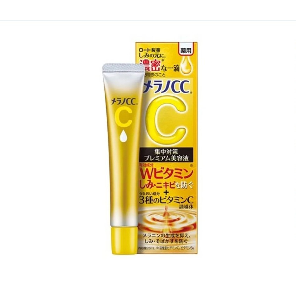 [MẪU MỚI 2021 – Bản Premium] Serum Melano CC Vitamin C, E  Hỗ Trợ Làm Trắng Da, Mờ Thâm Mụn (Bản Cao Cấp)
