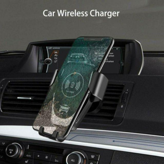 [XẢ KHO-THANH LÝ] Giá đỡ điện thoại kiêm sạc nhanh không dây