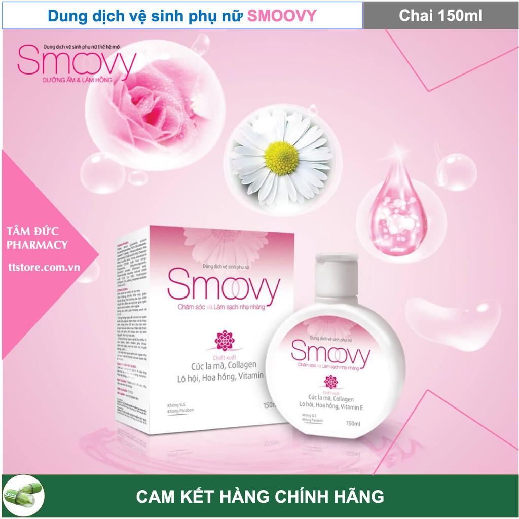 SMOOVY - SMOOVY COOL 150ml - Dung Dịch Vệ Sinh Phụ Nữ Smoovy - Nước Hoa SMOOVY [Smovy, smuvy, smovy cool]