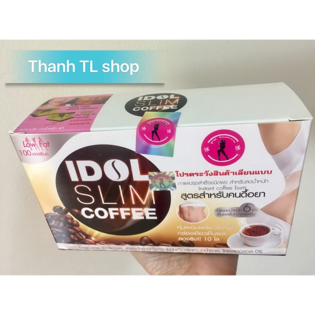 Cafe Giảm Cân An Toàn Idol Slim Coffee Thái Lan - 3094175 , 1025494885 , 322_1025494885 , 85000 , Cafe-Giam-Can-An-Toan-Idol-Slim-Coffee-Thai-Lan-322_1025494885 , shopee.vn , Cafe Giảm Cân An Toàn Idol Slim Coffee Thái Lan