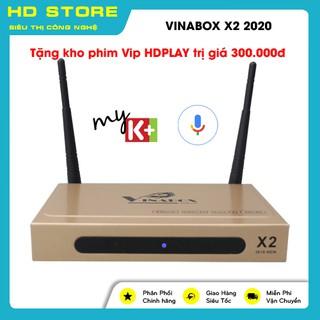 ĐẦU ANDROID TV BOX VINABOX X2 – 2020