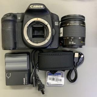 Bộ máy ảnh canon 50D kèm lens 28-80 usm 90%