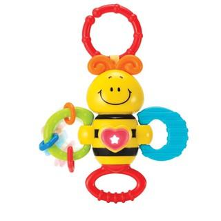 Đồ chơi Xúc xắc con ong có nhạc kèm gặm nướu và treo nôi cũi, xe đẩy Winfun 0625 thumbnail