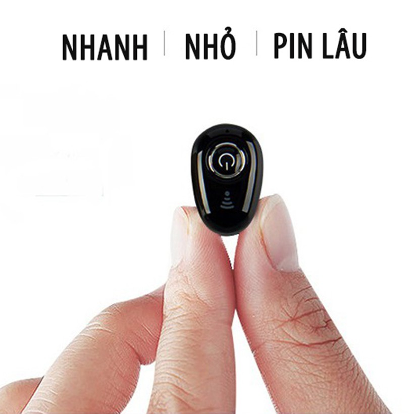 [BH 12 THÁNG] Tai Nghe BLUETOOTH Mini S650 - Tặng 1 dây sạc nhanh 25K- Không Dây - Nhỏ gọn - Chống ồn -  JAVA Shop