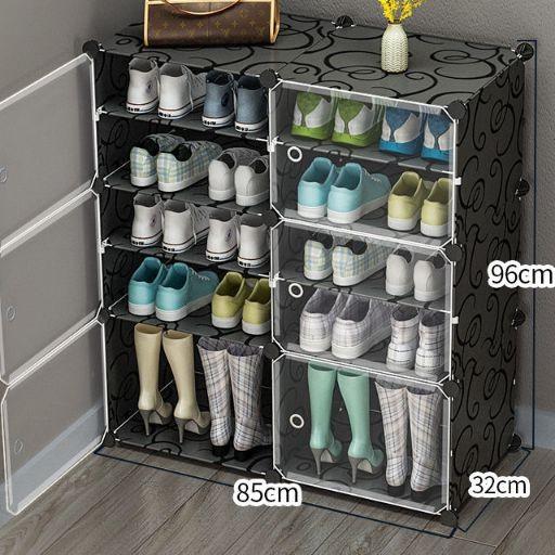 Tủ nhưa đưng giày 10 NGĂN NHỰA GHÉP