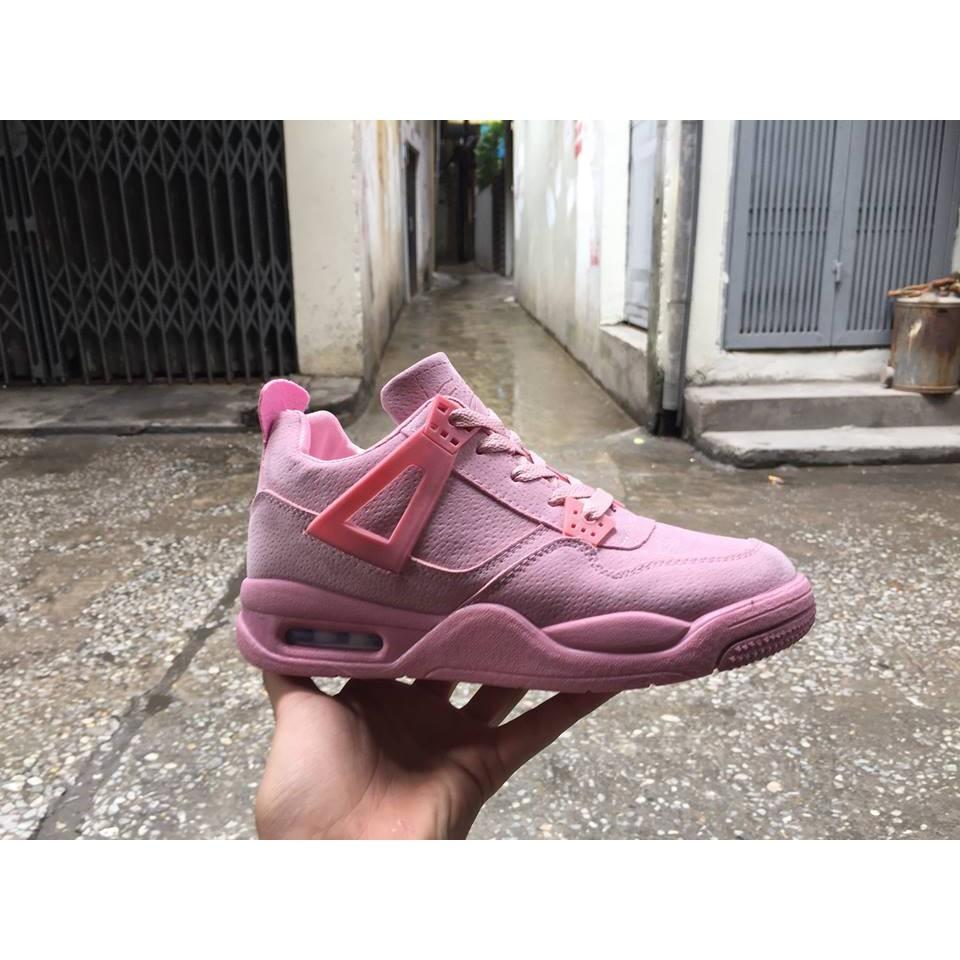 Giày thể thao nữ Nike Air Jordan 4 hồng - 2588511 , 556779168 , 322_556779168 , 220000 , Giay-the-thao-nu-Nike-Air-Jordan-4-hong-322_556779168 , shopee.vn , Giày thể thao nữ Nike Air Jordan 4 hồng