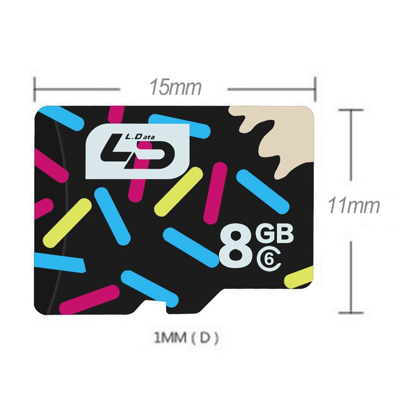 8.15【HOT】Mobile Phone Memory Card 8G Memory Card Digital TF Card Universal For Android