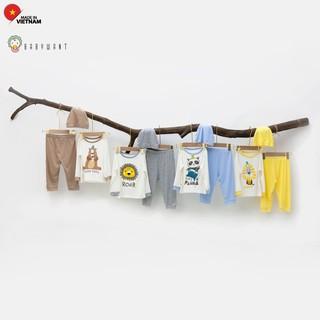 Bộ quần áo cho bé mặc 4 mùa cho bé từ 7 đến 19kg hình in to BABYWANT