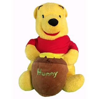 Gấu Pooh cầm hũ mật