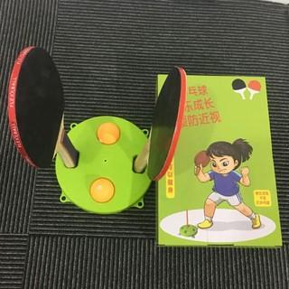 Bộ đồ chơi đánh bóng bàn tập phản xạ tại nhà (vợt gỗ)