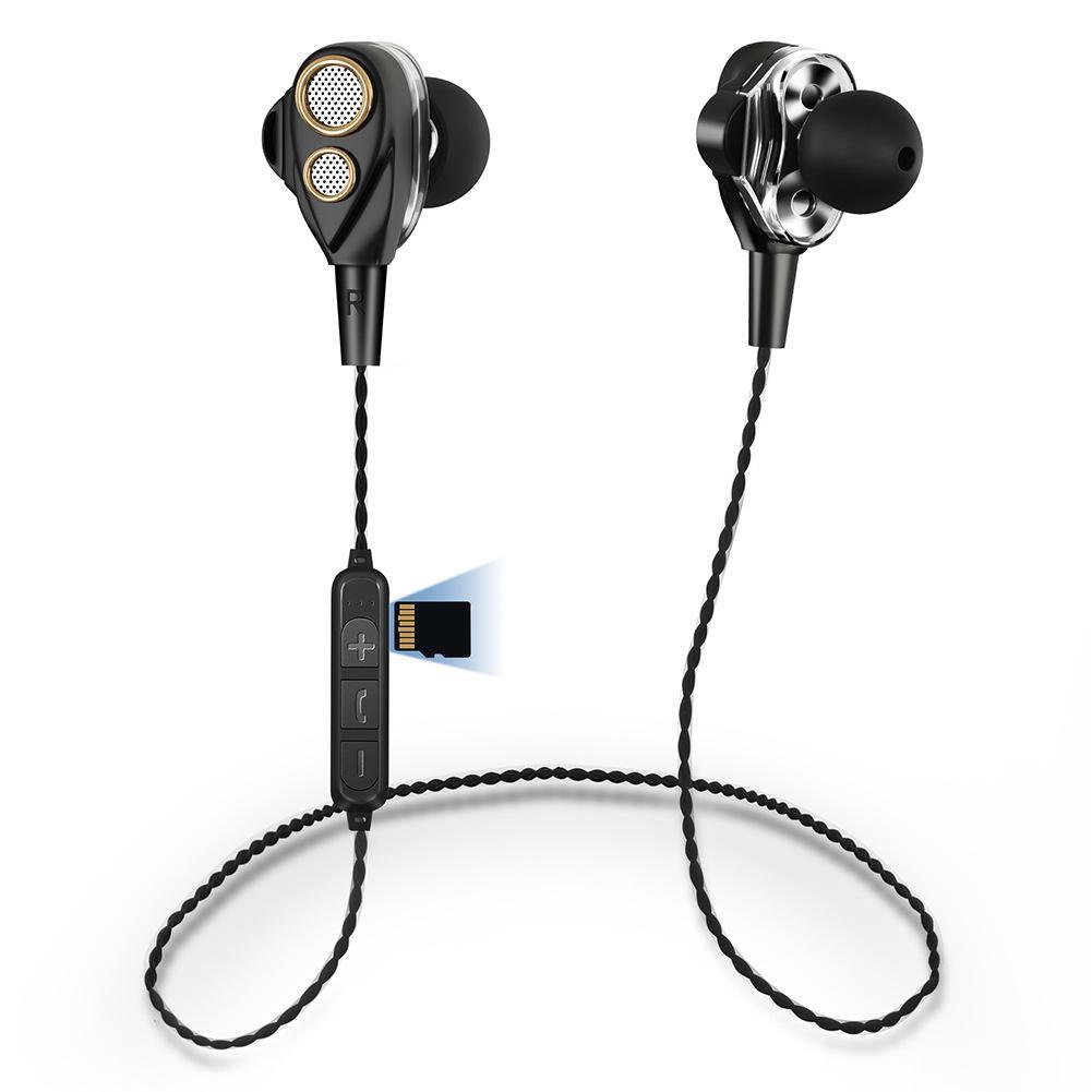 Headphones Sports Earphone Bluetooth Portable 6D Wireless