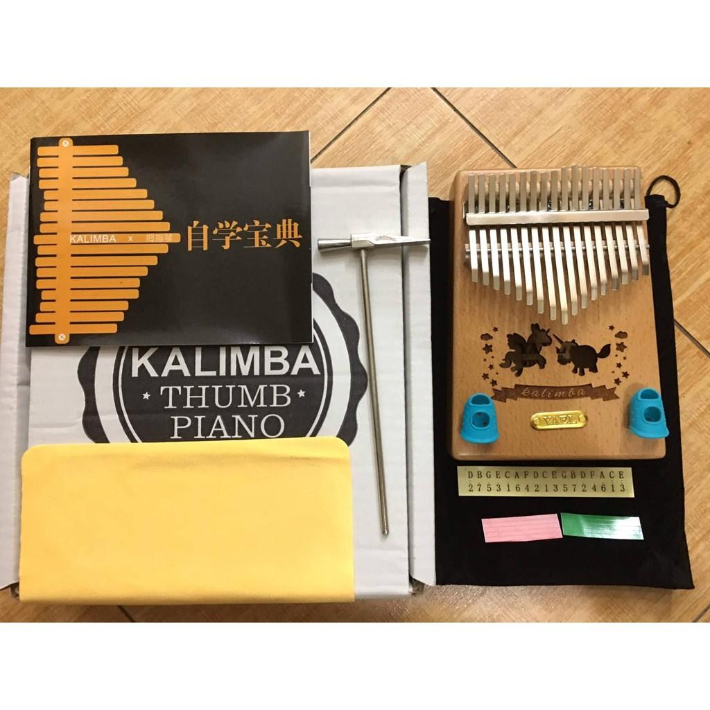 ĐÀN KALIMBA Gỗ Kỳ Lân - 17 PHÍM - THUMB PIANO - tặng full phụ kiện - 3445889 , 1347564463 , 322_1347564463 , 1029000 , DAN-KALIMBA-Go-Ky-Lan-17-PHIM-THUMB-PIANO-tang-full-phu-kien-322_1347564463 , shopee.vn , ĐÀN KALIMBA Gỗ Kỳ Lân - 17 PHÍM - THUMB PIANO - tặng full phụ kiện