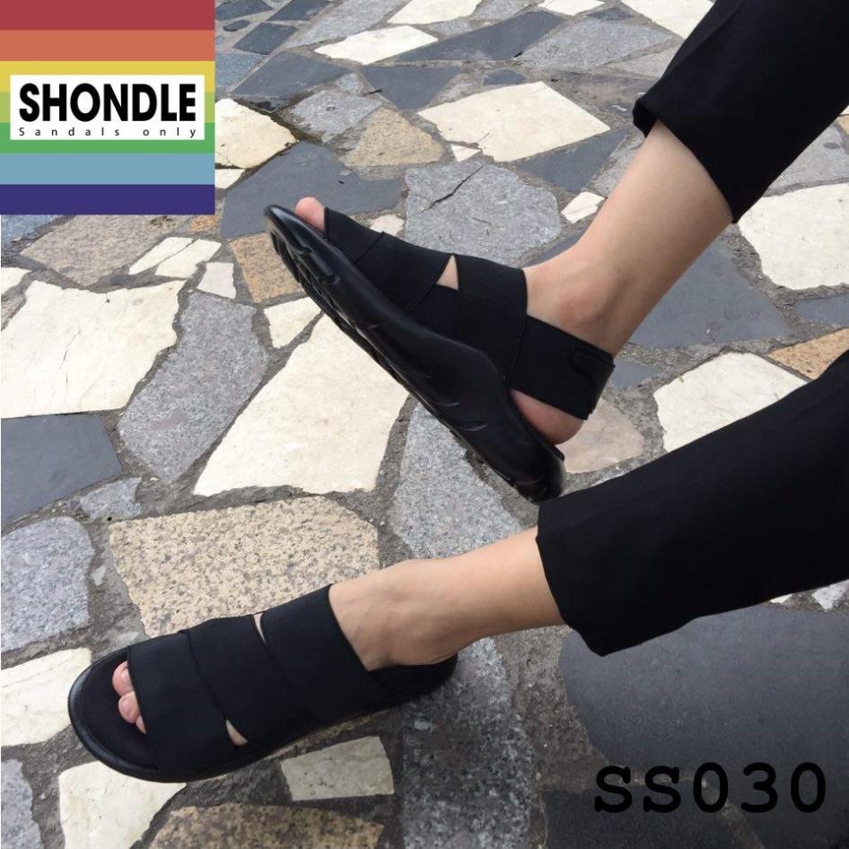 Rẻ Quá Trời  Sandal Y3 Full đen - SS030
