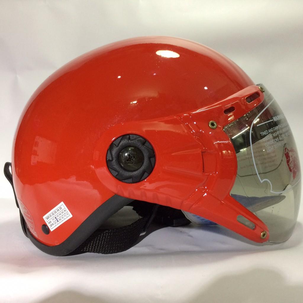 Mũ bảo hiểm V&S đỏ bóng - 10025706 , 680261100 , 322_680261100 , 250000 , Mu-bao-hiem-VS-do-bong-322_680261100 , shopee.vn , Mũ bảo hiểm V&S đỏ bóng