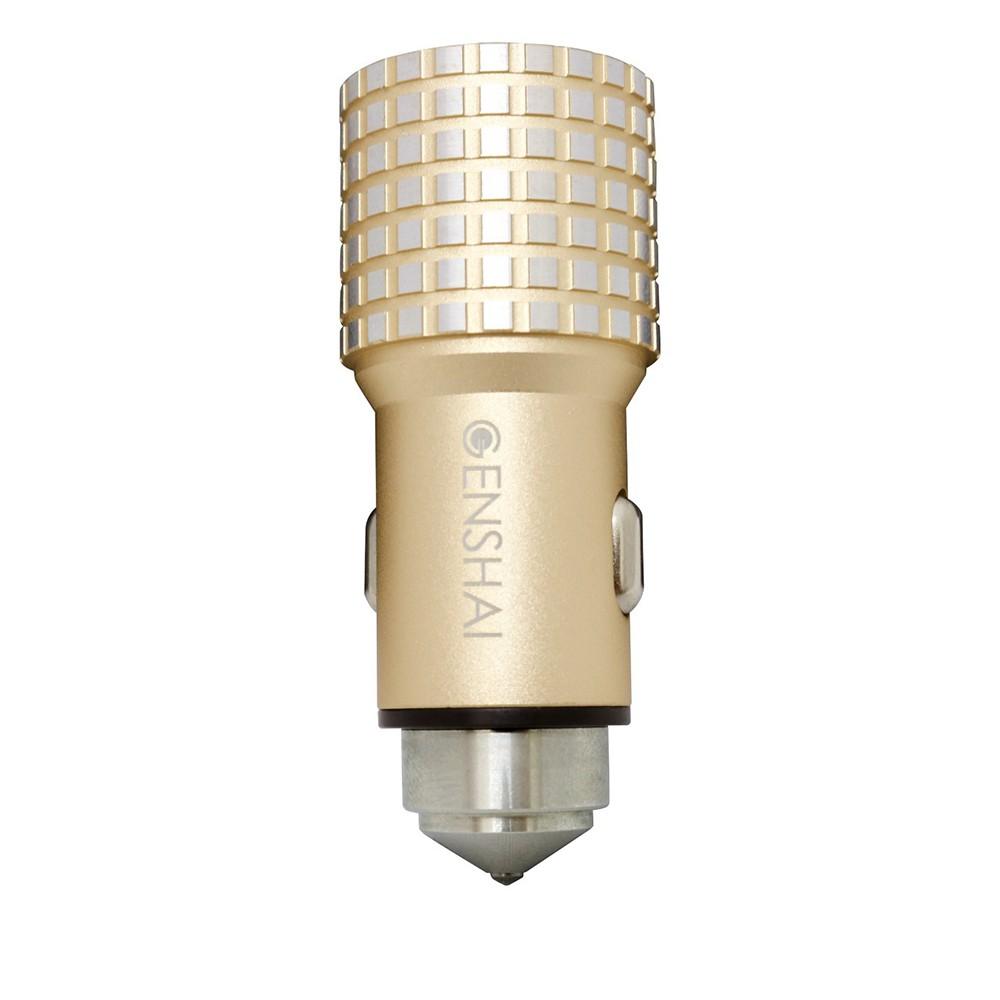 Sạc xe hơi Genshai Smart GC01 2 cổng USB - 9923412 , 1314771989 , 322_1314771989 , 180000 , Sac-xe-hoi-Genshai-Smart-GC01-2-cong-USB-322_1314771989 , shopee.vn , Sạc xe hơi Genshai Smart GC01 2 cổng USB