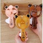 Quạt gấu line Quạt cơ cầm tay.quạt mini có sẵn