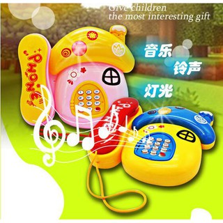 Mushroom Music Phone Music Toys Children Hot Toys Children Music Phone Toys spot