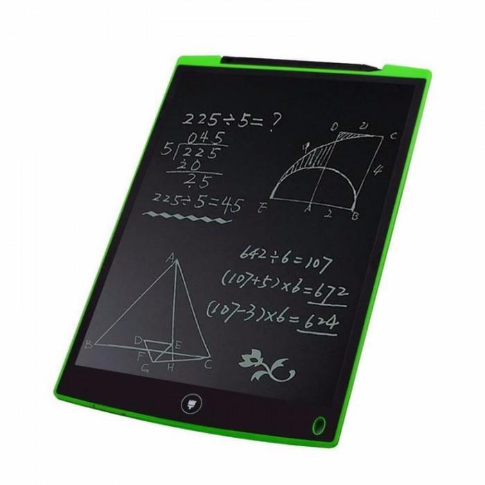 Bảng viết, bảng vẽ điện tử LCD tự xoá thông minh, 8.5 inch, Pin dùng 2 năm