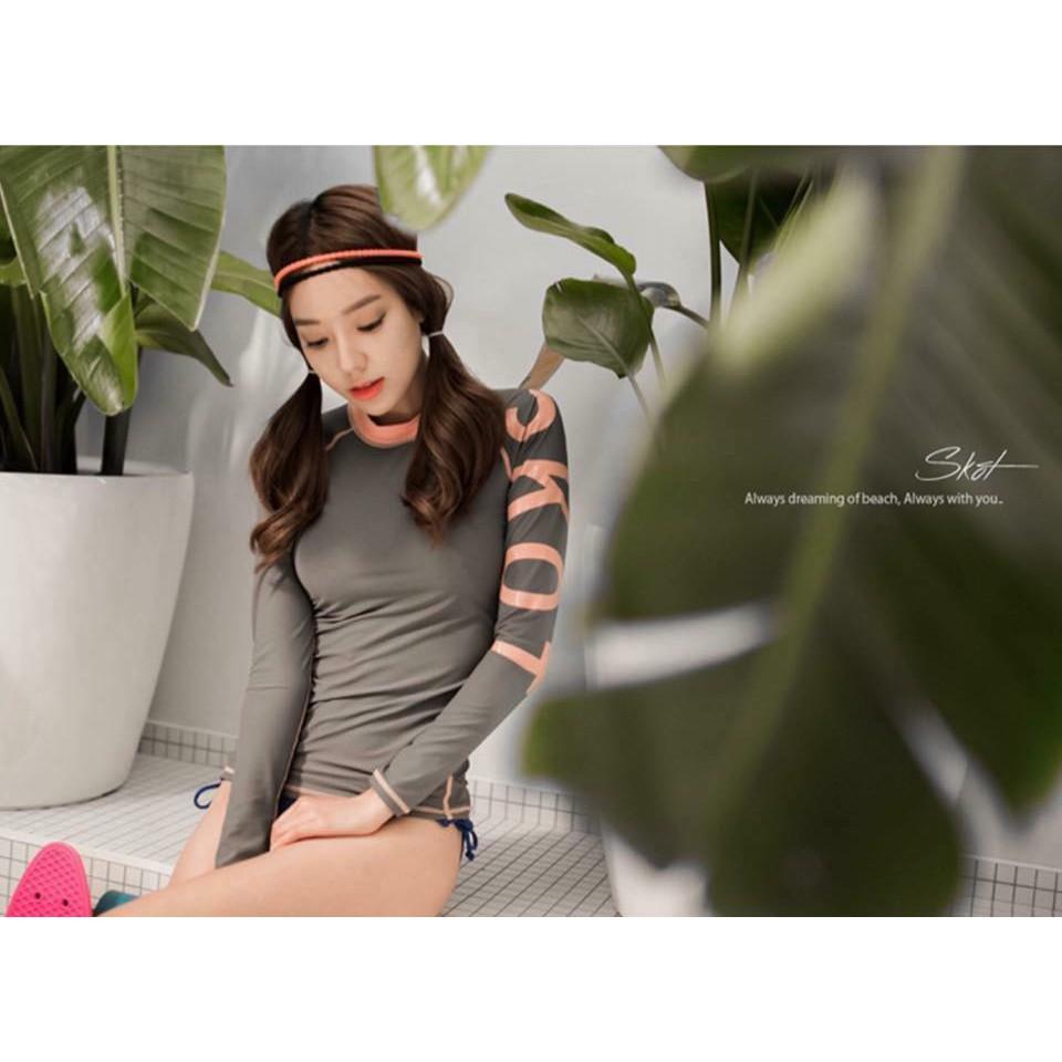 Bikini Hàn Quốc tay dài quần tam giác - 3111047 , 1009551365 , 322_1009551365 , 350000 , Bikini-Han-Quoc-tay-dai-quan-tam-giac-322_1009551365 , shopee.vn , Bikini Hàn Quốc tay dài quần tam giác