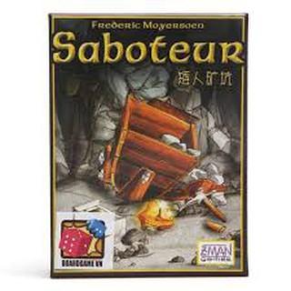 Saboteur – Bài Đào Vàng