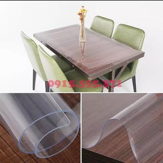 Tấm nhựa (1.4m x 1m) dày 1.5mm trong suốt trải bàn