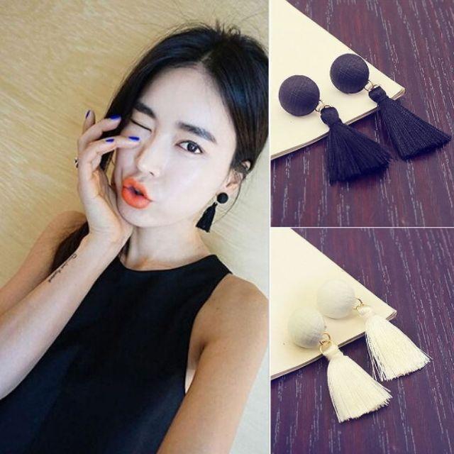 Bông tai khuyên tai phong cách Hàn Quốc( HÌNH THẬT VÀ VIDEO T