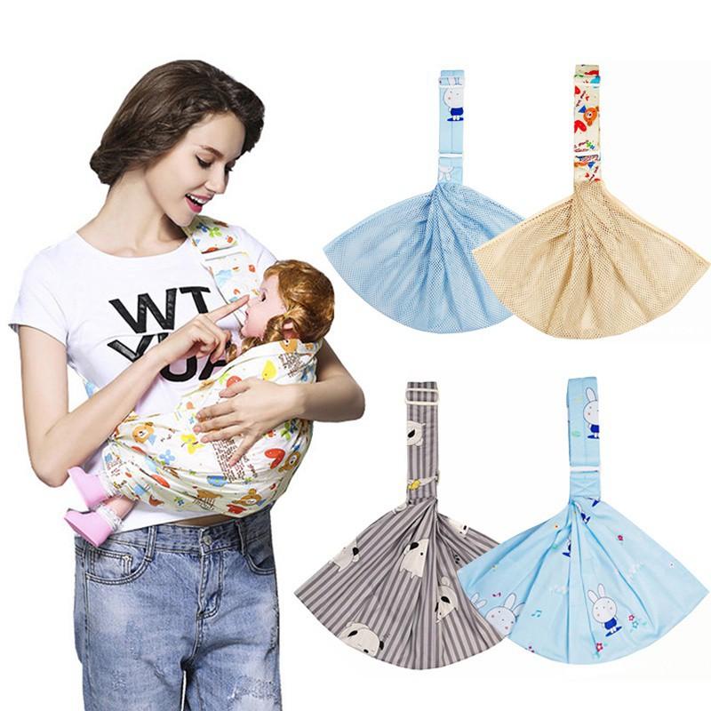 Đai địu em bé đeo 1 bên vai cực tiện lợi cho các mẹ bỉm sữa chất liệu mềm thoáng chất lượng cao